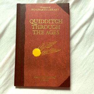 Harry Potter Quidditch Book